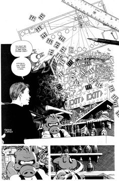 A page from Cerebus #229, Dave Sim and Gerhard