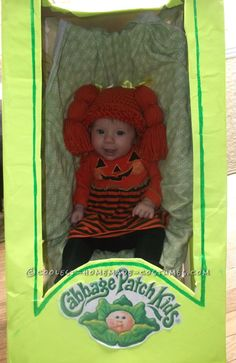 Coolest Homemade Baby in a Stroller Cabbage Costume... This website is the Pinterest of costumes