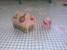 Casetas de madera de balsa