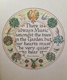 Nice garden quote