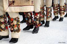 Photo by Petre Dadu Serbia And Montenegro, Costumes Around The World, Folk Clothing, Ethnic Dress, Folk Costume, Fashion Today, Ukraine, Boots, Winter