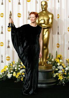 """Tilda Swinton - Best Supp. Actress """"Michael Clayton"""" (2008)"""