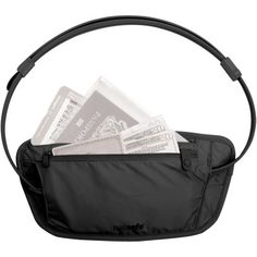 Pacsafe Coversafe 100 Travel Waist Wallet - Mountain Equipment Co-op. Free Shipping Available