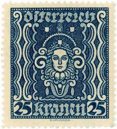 Austria postage stamp: art | by karen horton