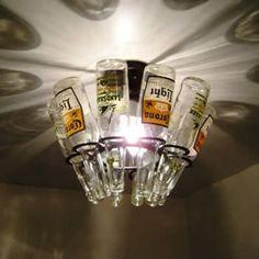 Man Cave beer-light