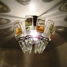 Man Cave beer-light