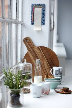 House Doctor Houten plank - House Doctor - Styling & Co. #kitchen #interior #decoration