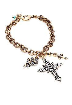 Lucky Brand Jewelry Cross Bracelet