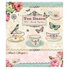 tea dance organiser square calendar 2013 from Paperchase £9.99 or any other pretty one.