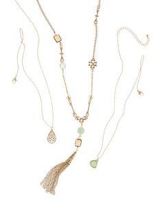 Brands   Necklaces & Pendants   3 Piece Tassel Necklace Set   Hudson's Bay