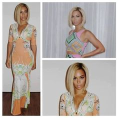 Beyonce new style ! OOOh I love this style
