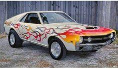70s Muscle Cars, American Muscle Cars, Amc Javelin, Car Part Furniture, American Motors, Custom Vans, Drag Cars, Car Manufacturers, Drag Racing