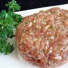 Homemade Sweet Italian Sausage
