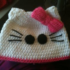 Creations for the cure is a non profit that crochets hats for cancer patients. www.facebook.com/Creations4theCure