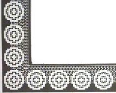 crochet em revista: Barras, entremeio e pontas
