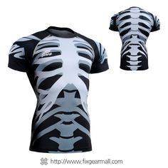 Fixgearmall - #FIXGEAR #Compression Base Layer Short Sleeve #Shirts, model no CFS-55, Skin Tights and Advanced Performance Fabric. ( #AeroFIX ) #Workout #Fitness #Crossfit #Training #MMA #Jujitsu #Yoga #Rashguard
