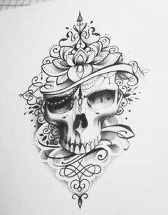 tattoos for women large tattoos for women large Skull Tattoo Flowers, Skull Rose Tattoos, Flower Tattoo Arm, Body Art Tattoos, Arm Tattoos Drawing, Dragon Tattoos, Finger Tattoos, Mandala Tattoo Design, Skull Tattoo Design