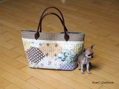 새로운 버전의 가방... : 네이버 블로그 Quilted Bag, Louis Vuitton Neverfull, Tote Bag, Purses, Pattern, Bags, Totes, Handbags, Handbags