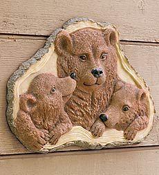Bear Family Plaque