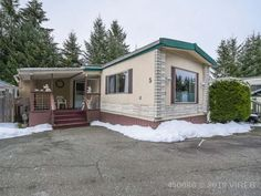 Property 2240 Fearon Road Unit Campbell River, has 2 bedrooms, 1 bathrooms with 1196 square feet. Mobile Offers, Office Names, River Trail, Remodeling Mobile Homes, Open Plan, Country Living, Recreational Vehicles, Real Estate, Backyard