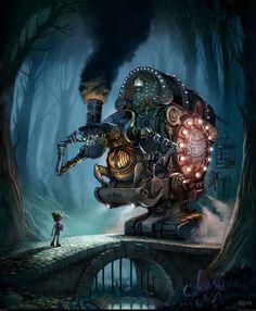 steampunk — Myths & Legends» paropunk.com