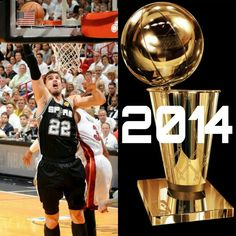SPURS TIAGO SPLITTER 2014 NBA CHAMPION