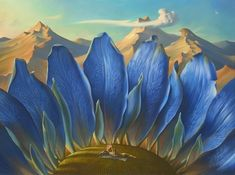 Vladimir Kush - Across the Mountains and into the Trees