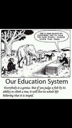 Nuestro sistema educativo queriendo ser justo a veces termina siendo muy injusto