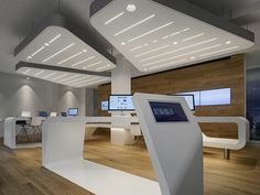 VZ Desk Finanzportal Store by NAU Architects in Zurich