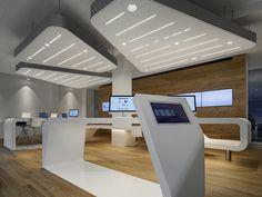VZ Desk Finanzportal Store by NAU Architects in Zurich
