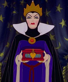 Lucille La Verne as The Evil Queen in Snow White and the Seven Dwarfs (1937)