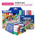 STA 12/24 Colors Acrylic Marker Pen H...