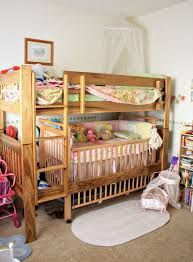 Image Result For Bed And Crib Bunk Combo