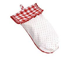 BAG OF BREAD IN COTTON - Red and White
