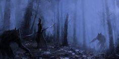 ArtStation - Dark Hunter, Jakub Rozalski