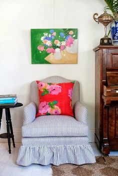 absolutely beautiful things: Announcing a Black & Spiro Online Pop-up Store! Room Colors, House Colors, Anna Spiro, Colourful Living Room, Colorful Rooms, Colorful Decor, Take A Seat, Eclectic Decor, Pattern Mixing