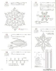 Decorazioni per borse crochet pattern
