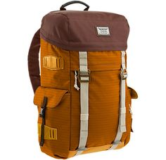 Burton takes inspiration from old school mountain gear for the Annex Backpack. Featuring a heritage rucksack design with secure laptop and electronics compartments, this bag is the perfect marriage of