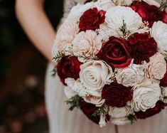Burgundy Wedding Bouquet Burgundy Blush Pink and Ivory Sola Bouquet Burgundy Bridal Bouquet Blush Pink Bouquet Burgundy Flower Burgundy And Blush Wedding, Burgundy Bouquet, Burgundy Flowers, Blush Bouquet, Gypsophila Bouquet, Wood Flower Bouquet, Sola Wood Flowers, Flower Bouquet Wedding, Flower Bouquets