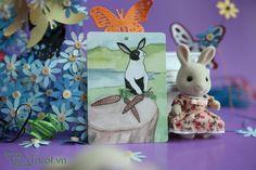 Three of Swords - The Rabbit Tarot