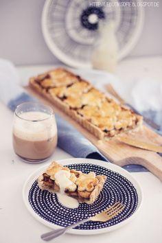 Diese leckere Apfel Pie war heute ratz fatz weg nachdem sie gebacken war:-). Damit ihr sie auch nachbacken könnt, hab ich natürlic...