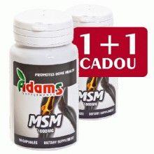 MSM 1000mg, 30cps 1+1 Gratis