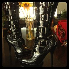 Bad Ass Boots, Kinky Boots, New and Unworn  Brand new boots, never worn, perfect condition, great discount! Designer Shoes