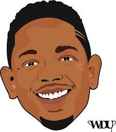Vector art, Design, Kendrick Lamar