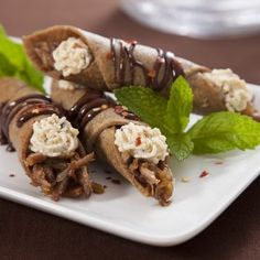 Savory Duck Confit Cannoli