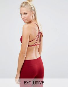 Buy it now. South Beach Berry Soft Strappy Bralette Crop Top - Red. Bralet by South Beach, Smooth stretch fabric, Plunge neckline, Multi-strap back, Cropped length, Close-cut bodycon fit, Machine wash, 92% Nylon, 8% Elastane, Our model wears a UK S/EU 36/US 4, Exclusive to ASOS. ABOUT SOUTH BEACH Making a splash, hot new swim and beachwear brand South Beach presents its debut collection of vibrant, trend-led pieces. Featuring beading and embellishment across a range of classic bikini styles…
