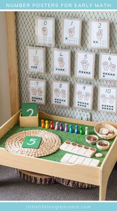 Numeracy Activities, Literacy And Numeracy, Kindergarten Math Activities, Preschool Lessons, Toddler Preschool, Maths, Toddler Teacher, Math Math, Reggio Emilia Classroom
