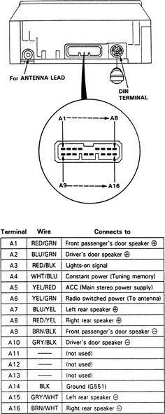 12 best amp new images in 2019 electronic schematics, amp ford wire harness color code 1998 honda civic stereo wiring