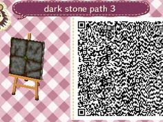 water path QR code QR animal crossing new leaf new leaf acnl Animal Crossing 3ds, Acnl Pfade, Acnl Art, Acnl Paths, Wooden Path, Theme Nature, Motif Acnl, Theme Halloween, Ac New Leaf