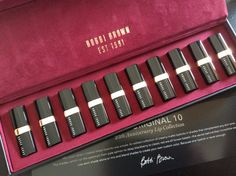Bobbi Brown 25th Anniversary Lopsticks